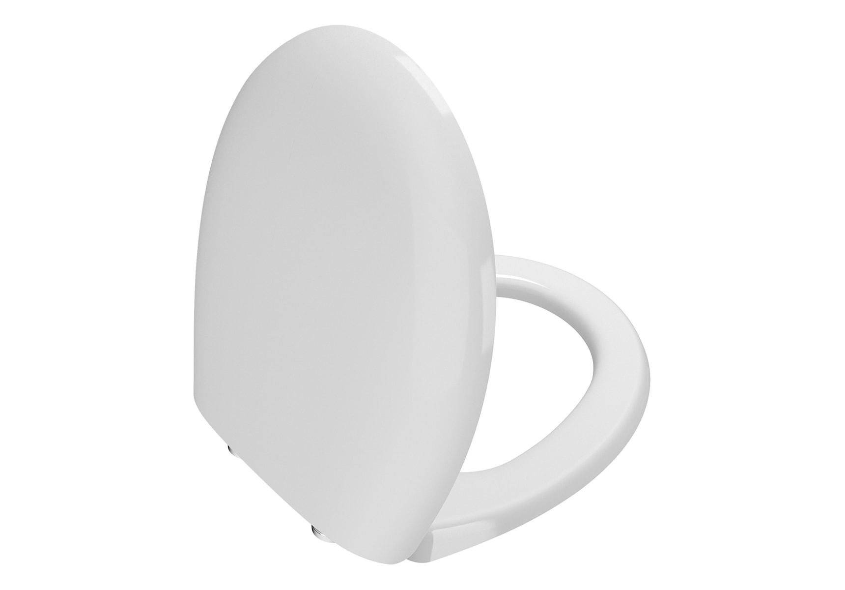 WC Seat (Soft-Closing) Matte White Quick Release