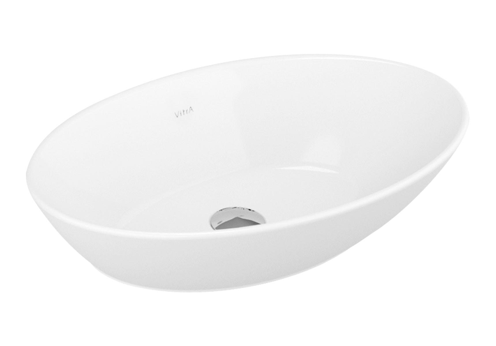 Geo Oval Bowl, 60 cm