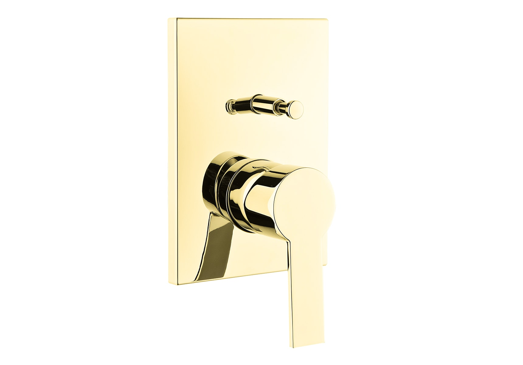 Flo S Built-In Bath/Shower Mixer , Exposed Part, Gold