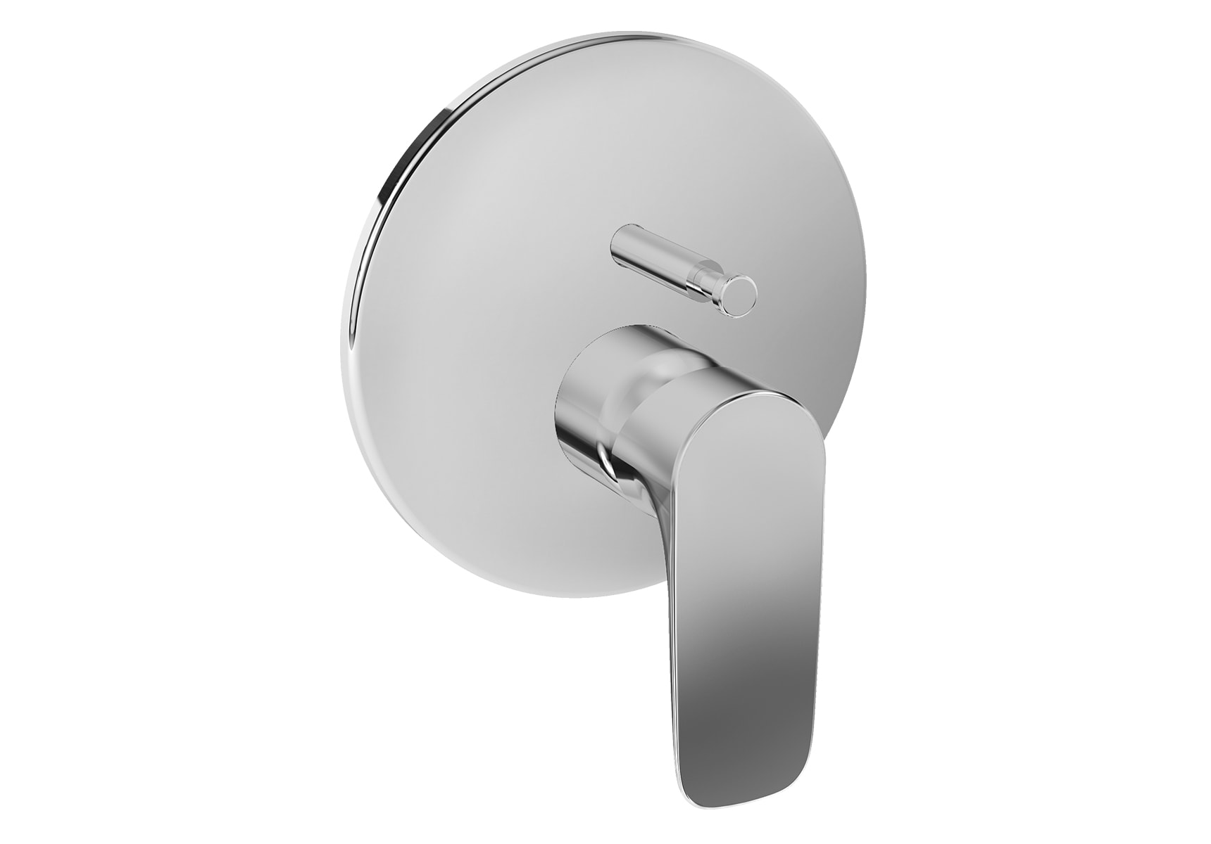 X-Line Built-In Bath/Shower Mixer, V-Box-Exposed Part, Chrome
