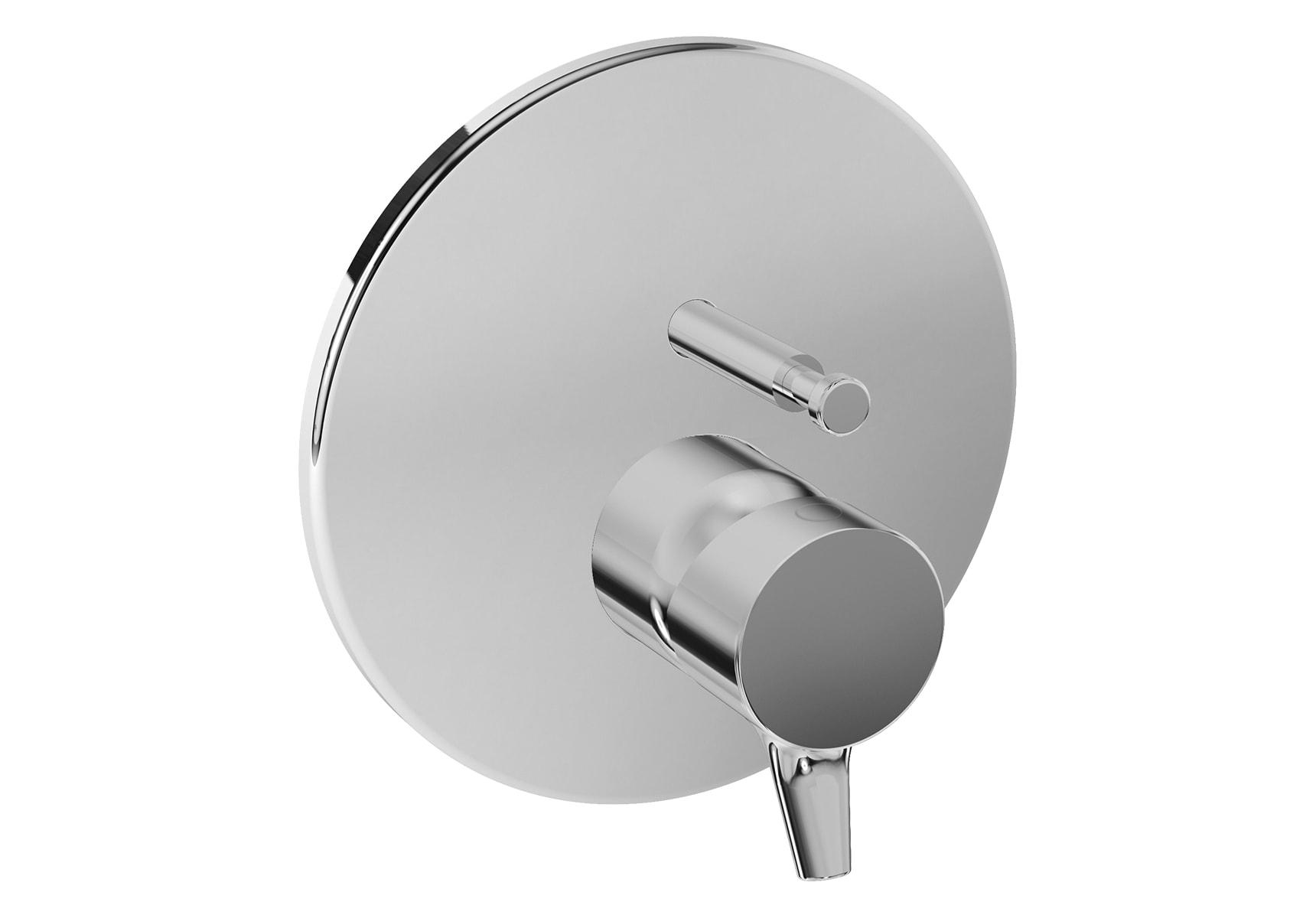 Nest Trendy Built-In Bath/Shower Mixer, V-Box-Exposed Part, Chrome