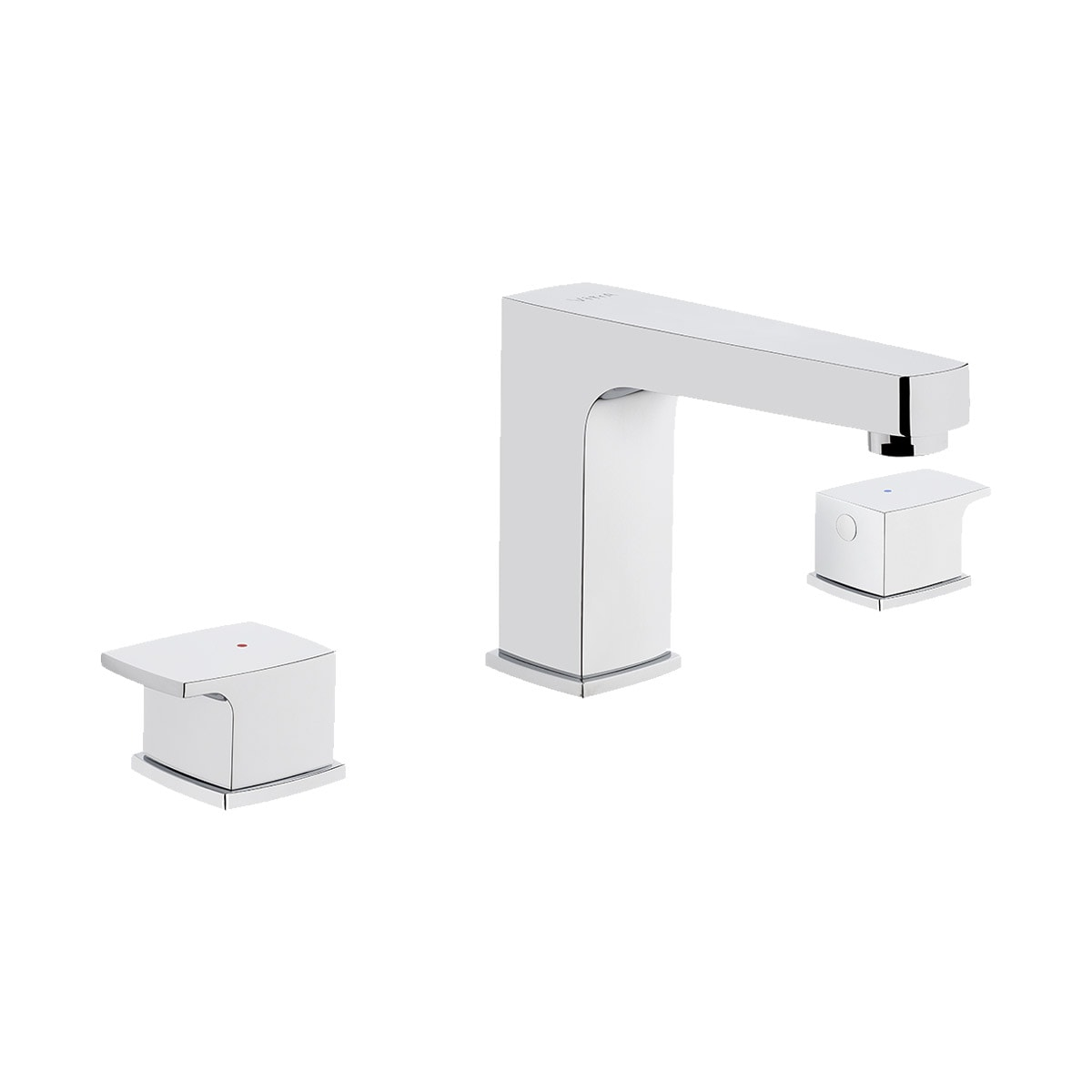 Q-Line Basin Mixer (for 3-hole basins)