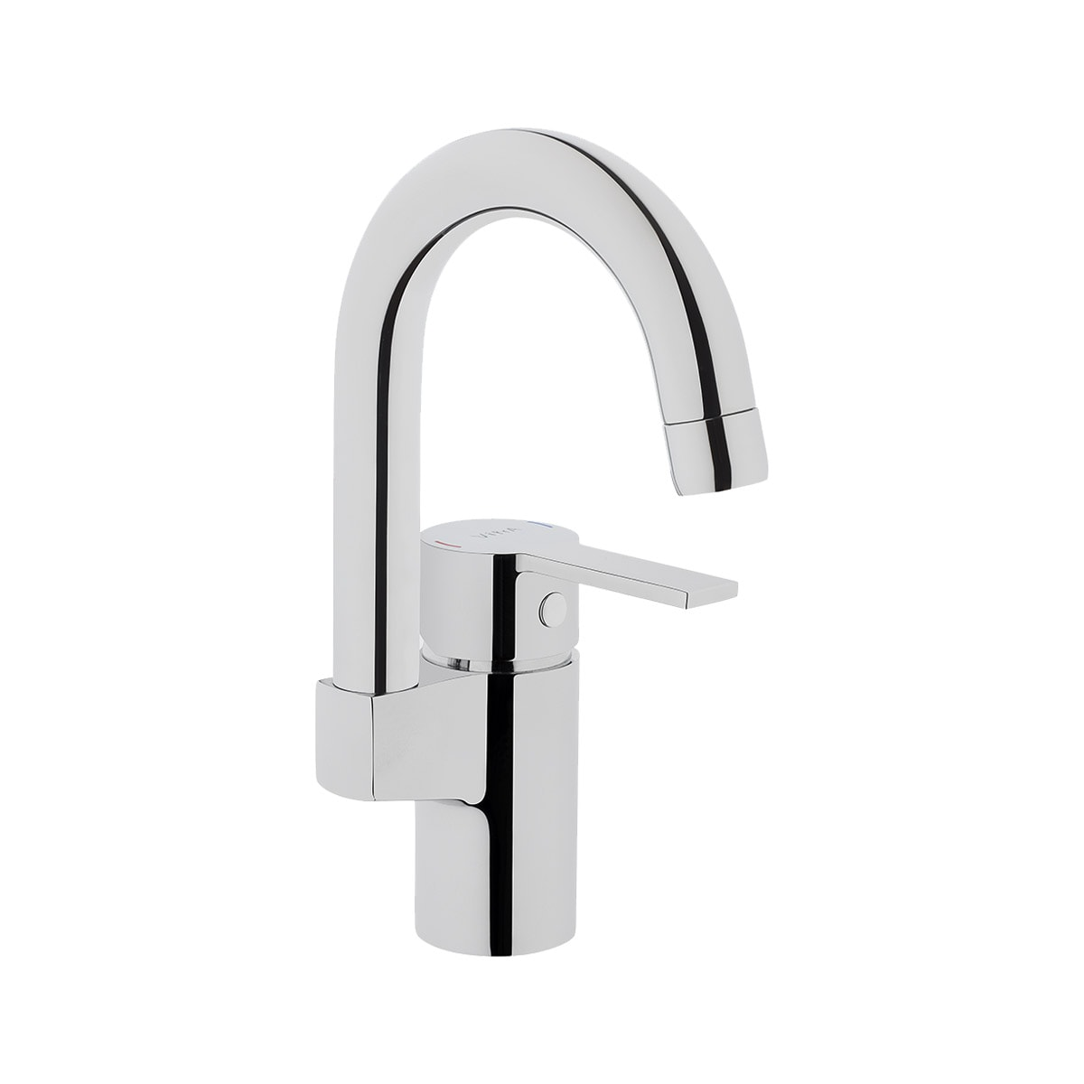 Fold S Basin Mixer (with swivel spout)
