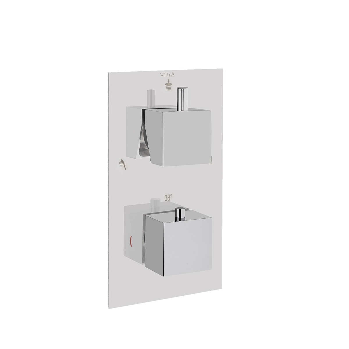 AquaHeat S2 Built-in Bath/Shower mixer (3-way diverter)