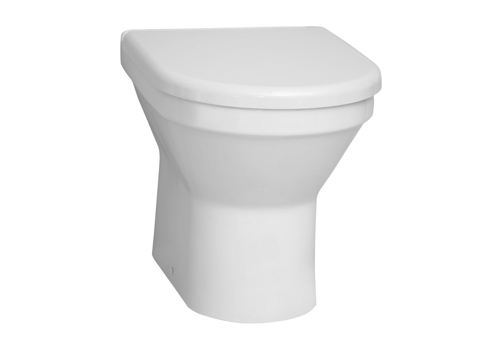S50 Close-Coupled Single WC Pan, Compact