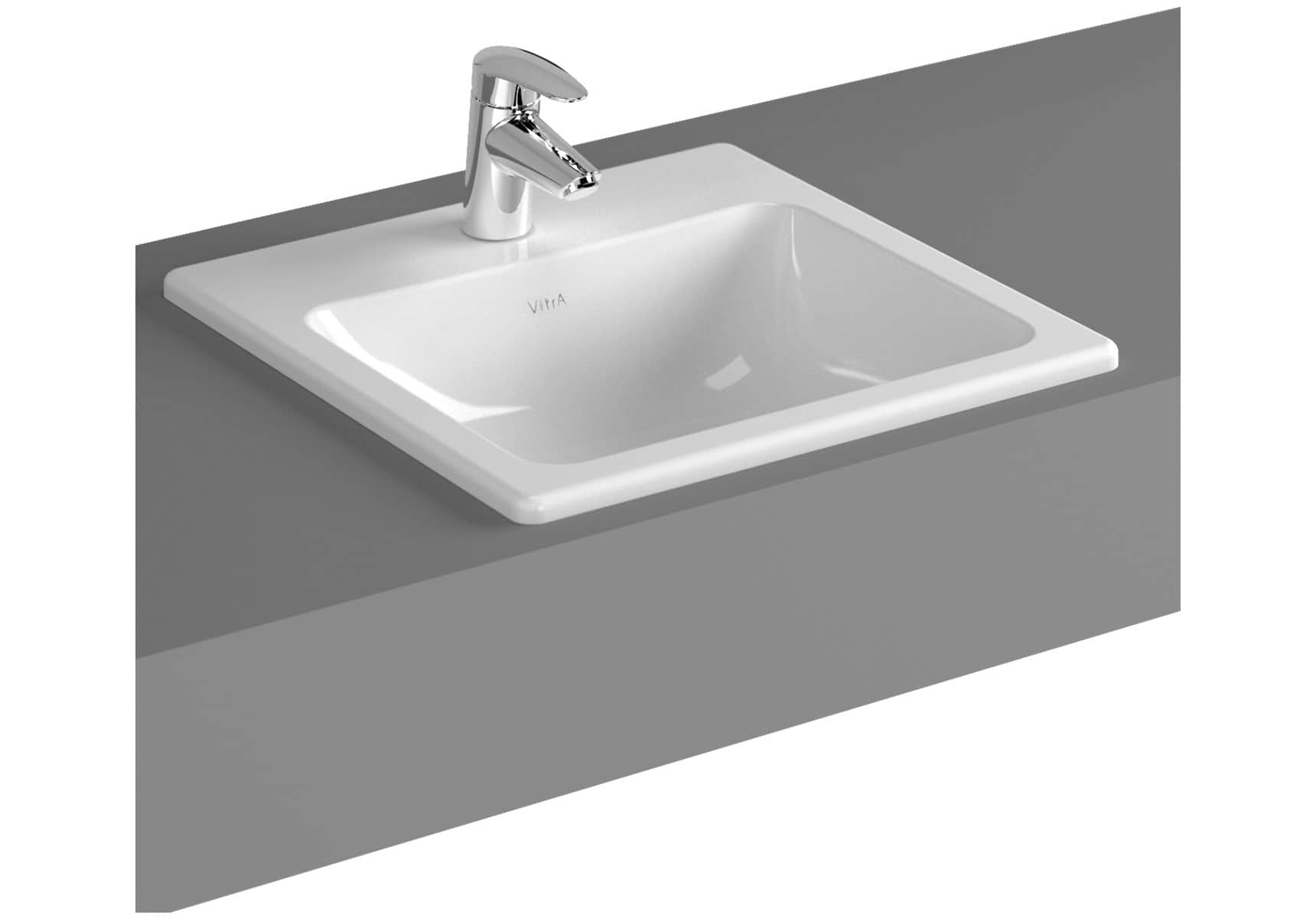 S20 Countertop Basin, 45cm