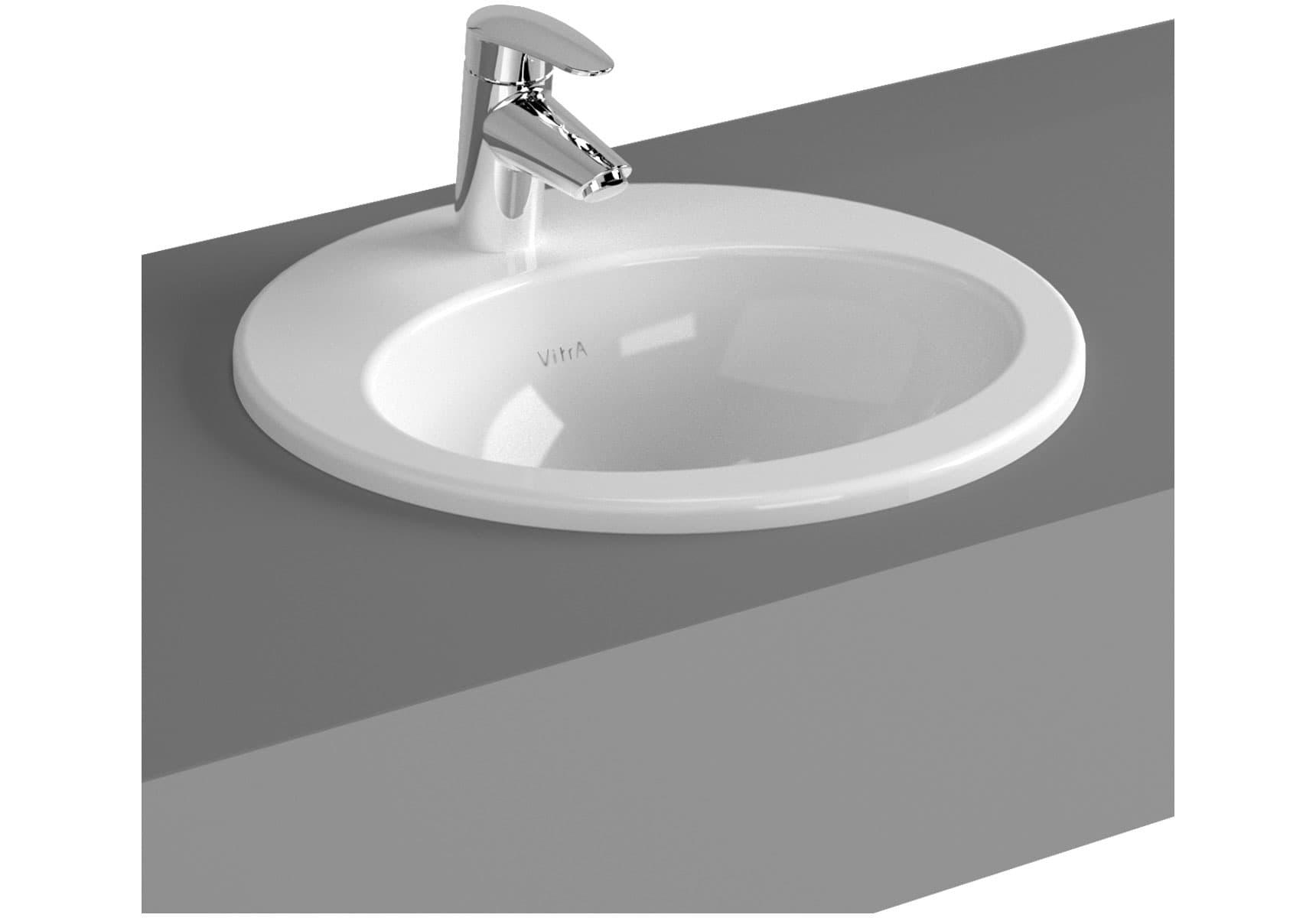 S20 Countertop Basin, 43cm