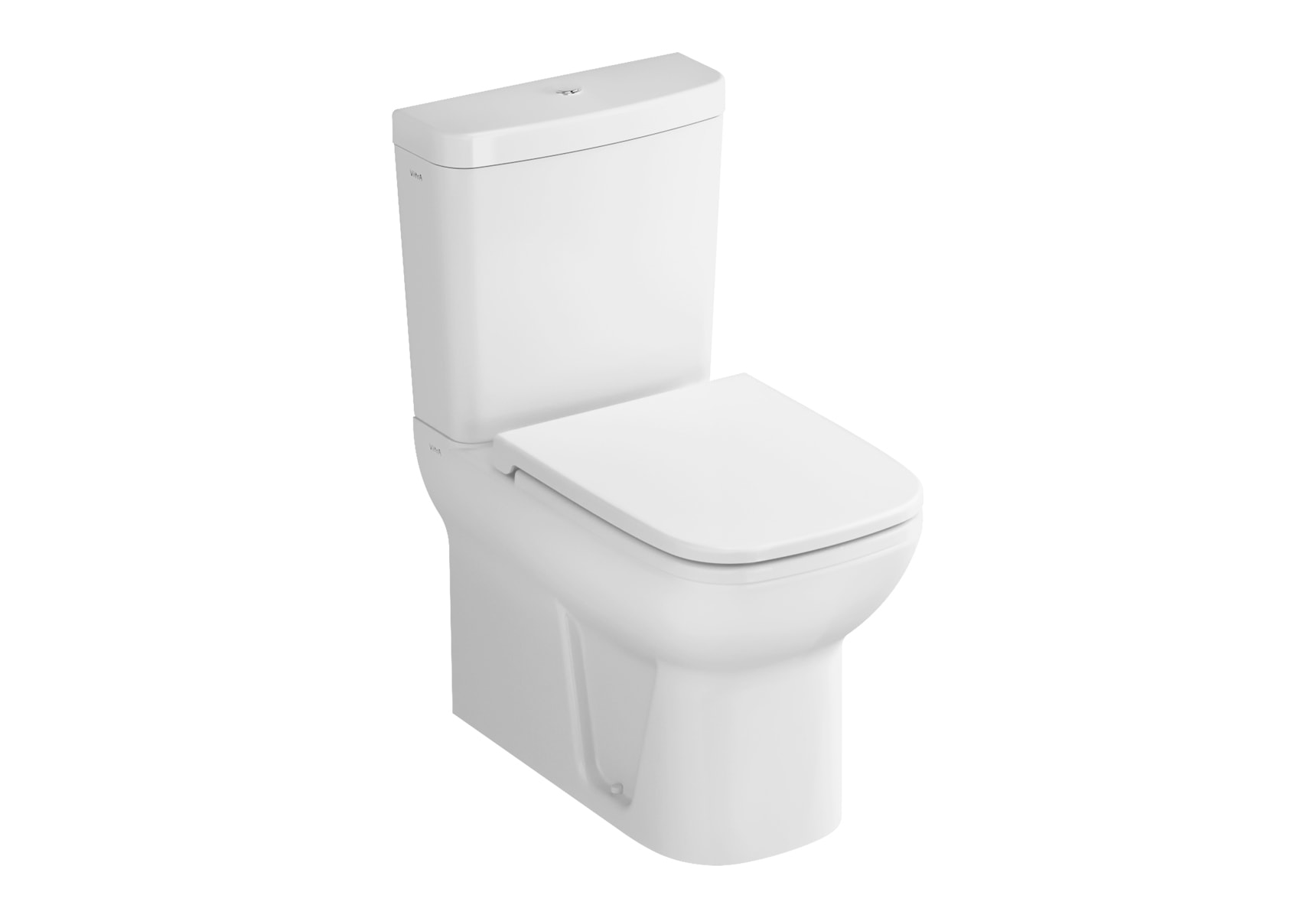 S20 Back-To-Wall Close-Coupled WC Pan with Universal Outlet