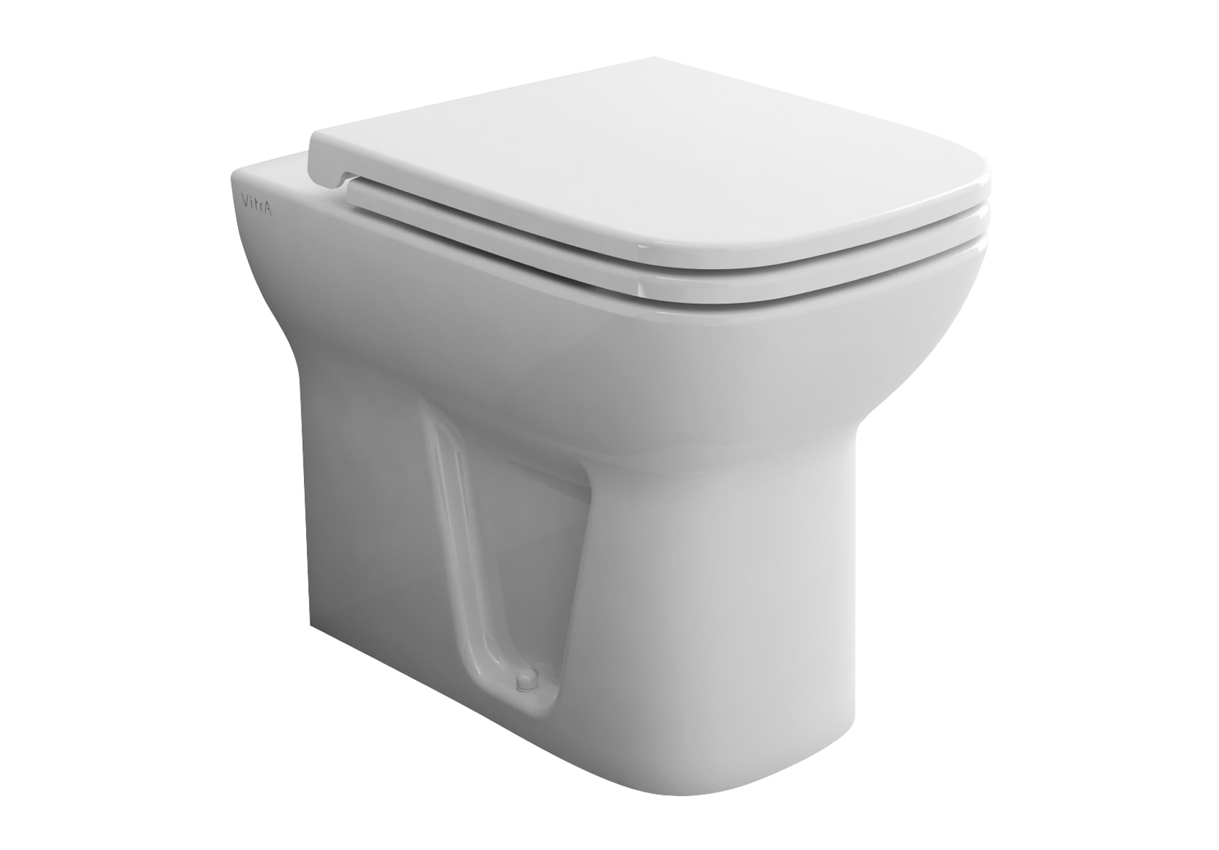 S20 Back-To-Wall Single WC Pan