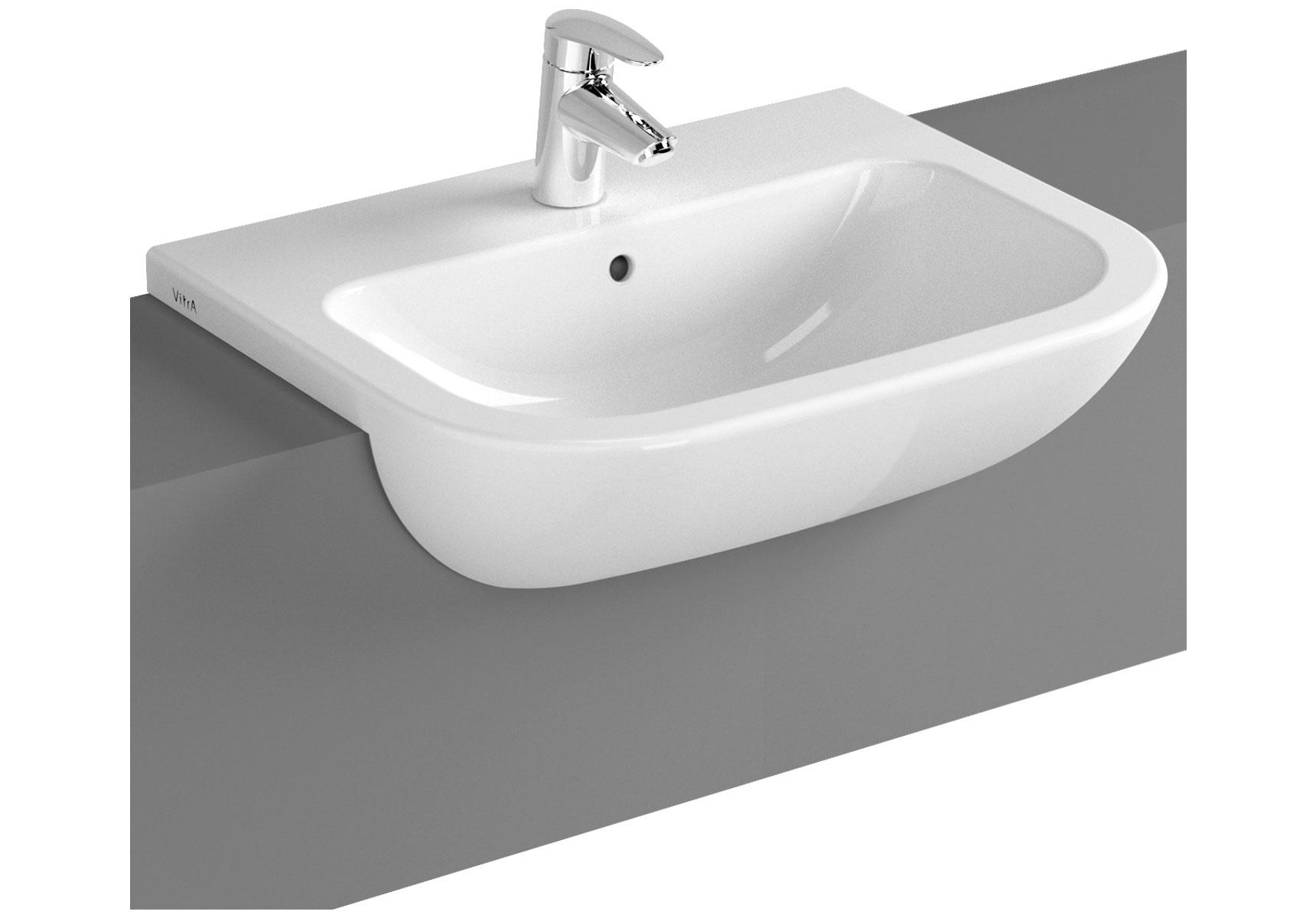 S20 Recessed Basin, 55cm