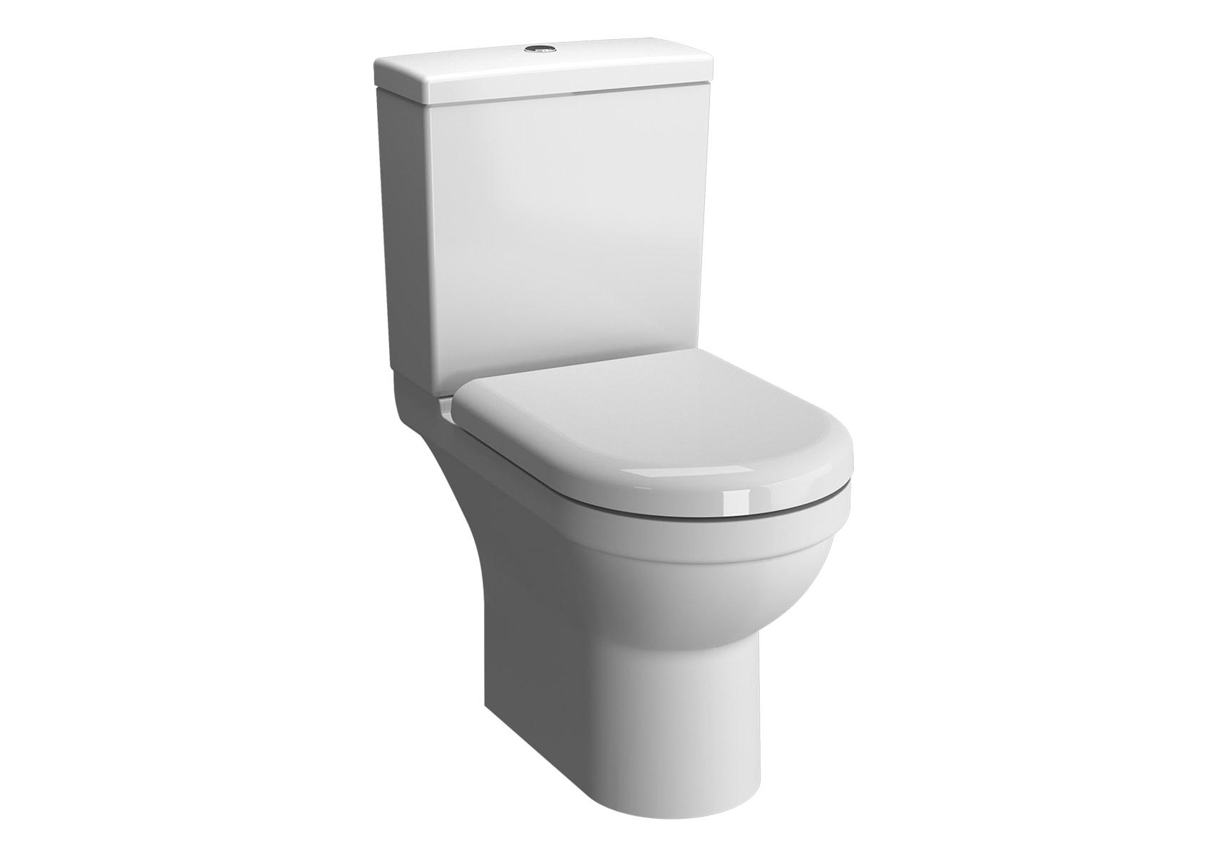 S50 Rim-Ex Open Back Close-Coupled WC Pan