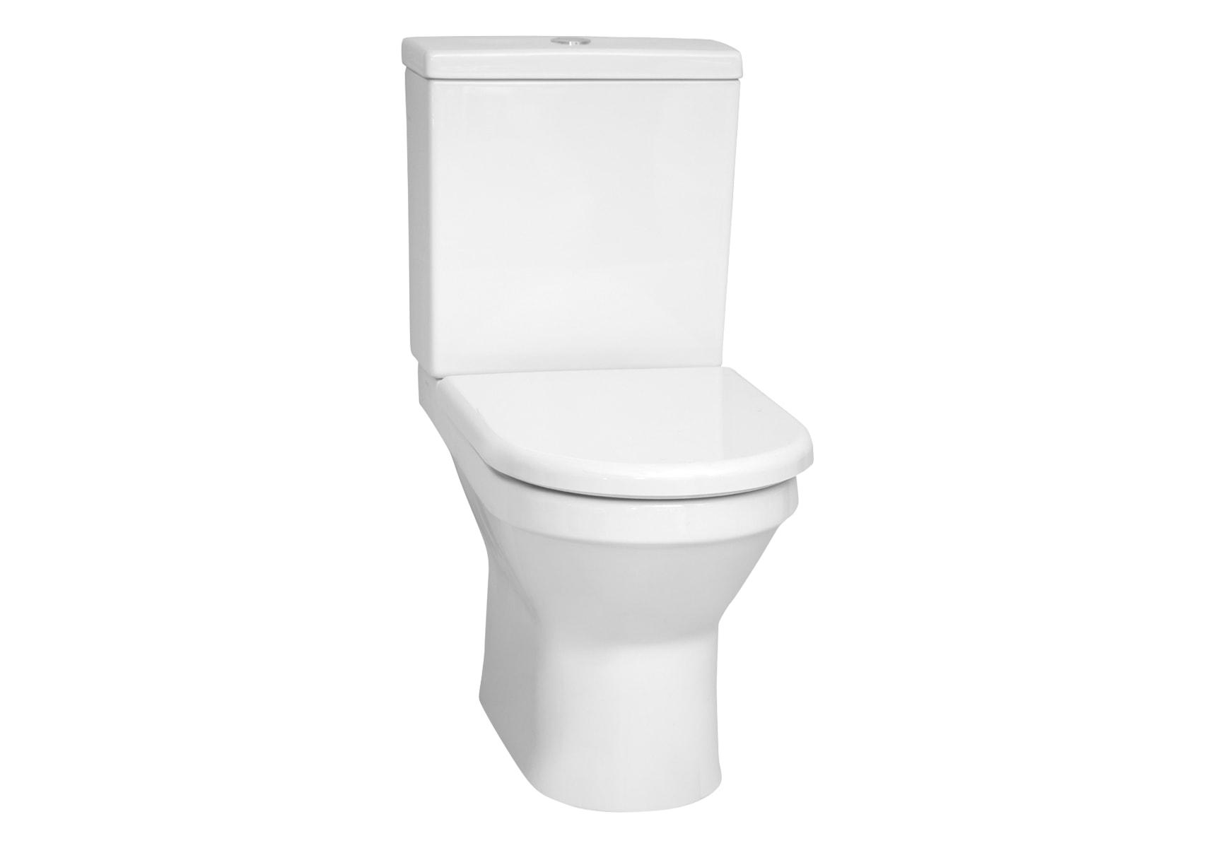 S50 Rim-Ex Close-Coupled WC Pan, Compact
