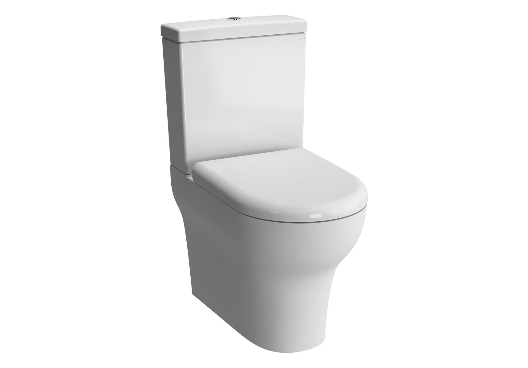 Zentrum Back-To-Wall WC Pan, 60cm
