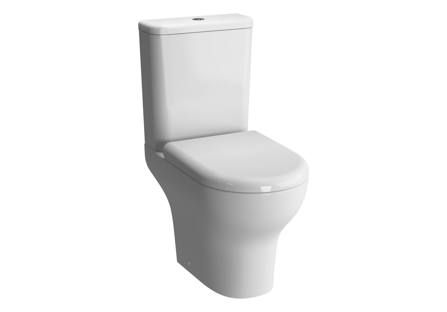 Zentrum Close-Coupled WC Pan, 60cm