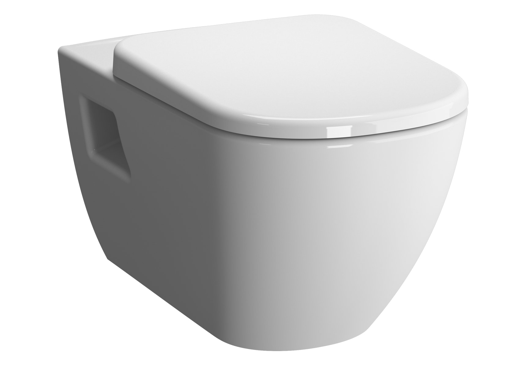 D-Light Rim-Ex Wall-Hung WC Pan Lid (without Bidet Pipe)