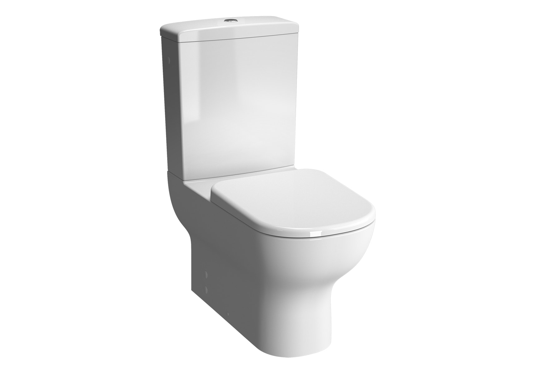D-Light Back-To-Wall Close-Coupled WC Pan