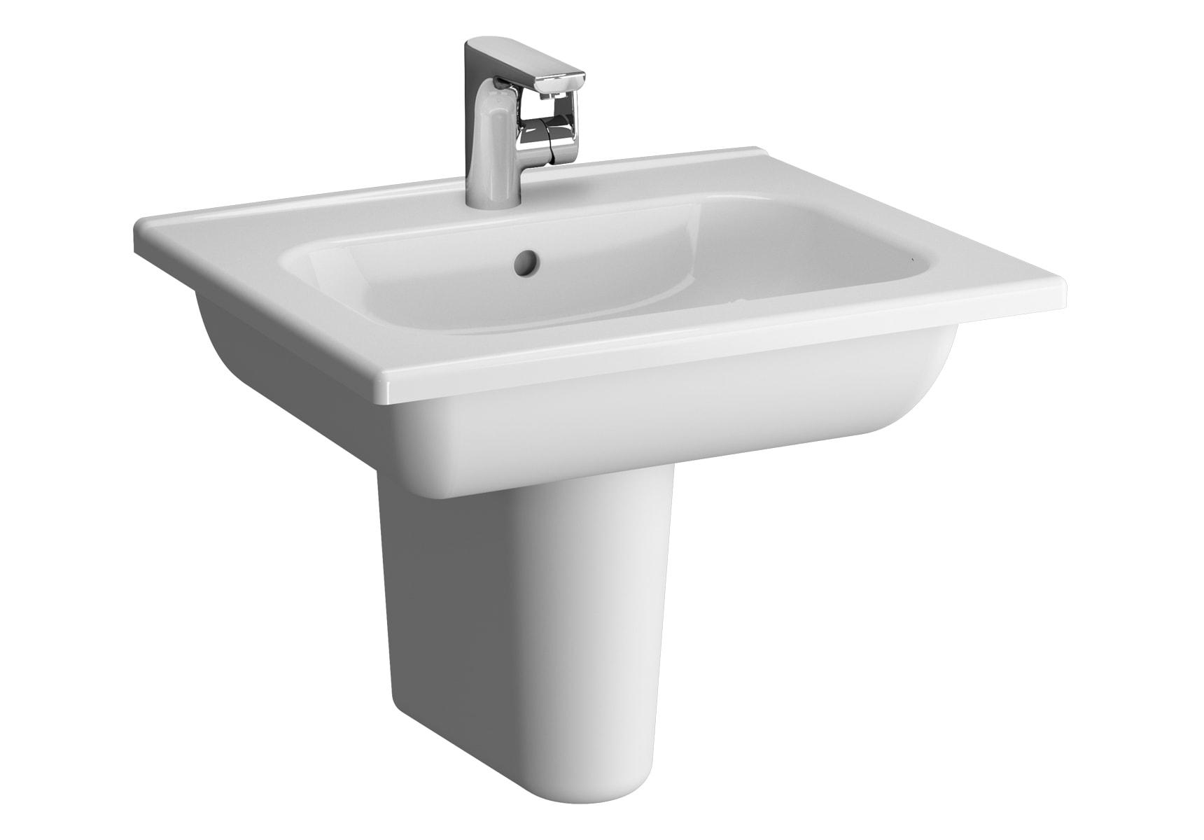 D-Light Vanity Basin, 60cm