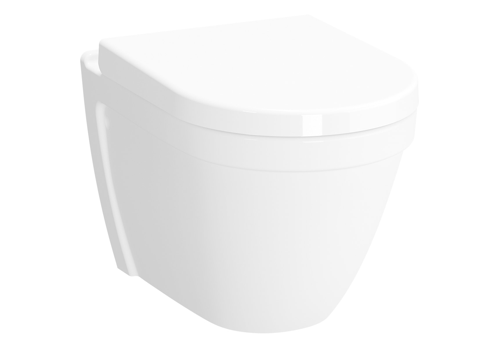 S50 Wall Hung Wc, Without Side Holes