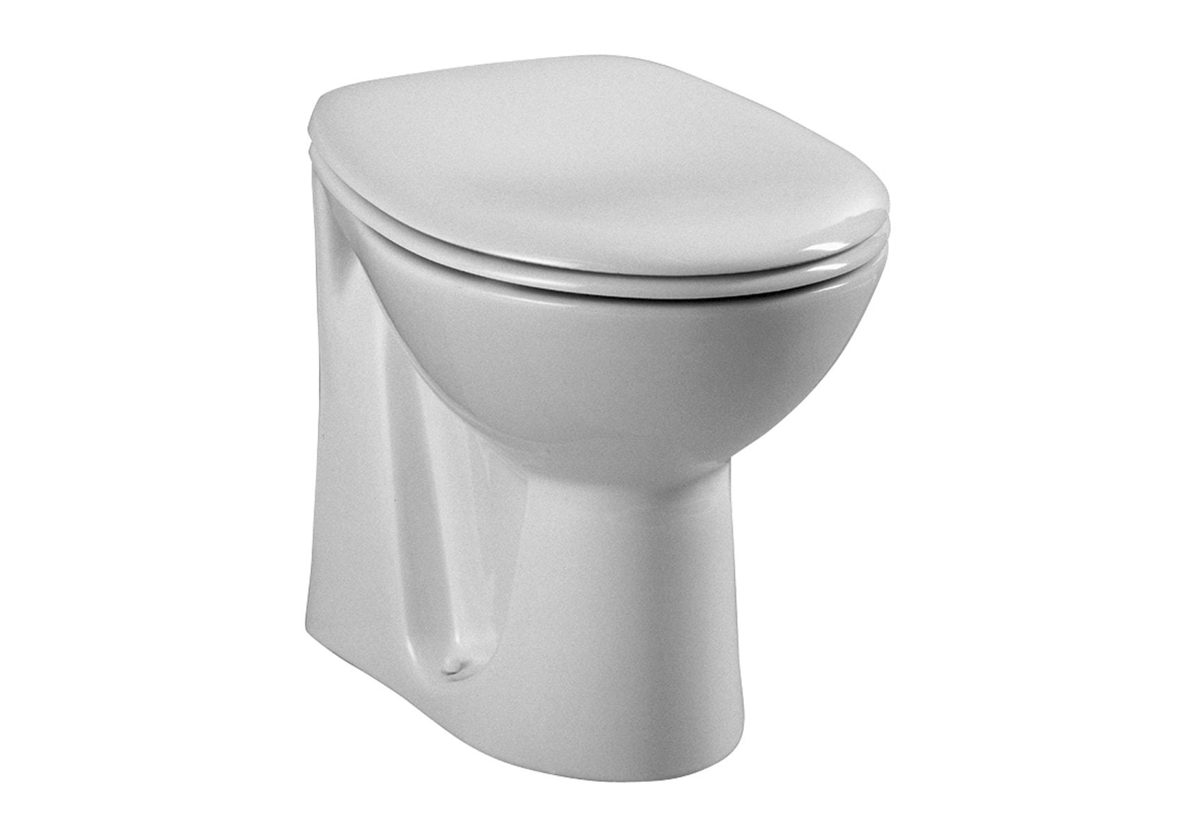Arkitekt Single WC Pan, Back Outlet