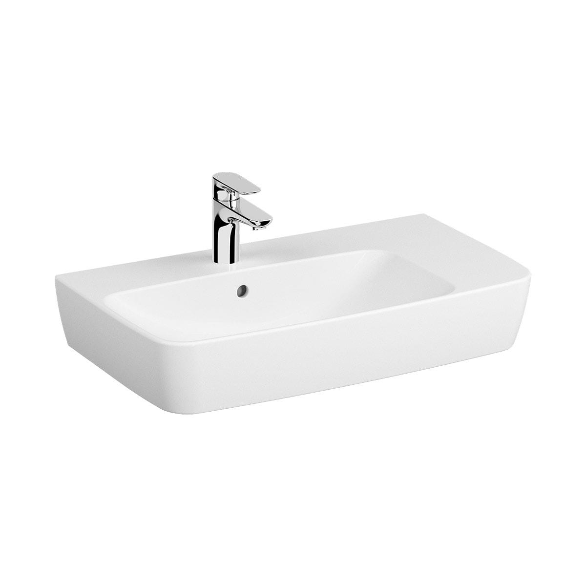 Assymetrical Basin, 75X45 cm