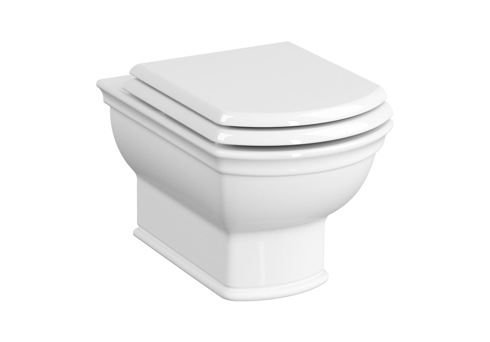 Rim-Ex Wall-Hung WC Pan, 54cm