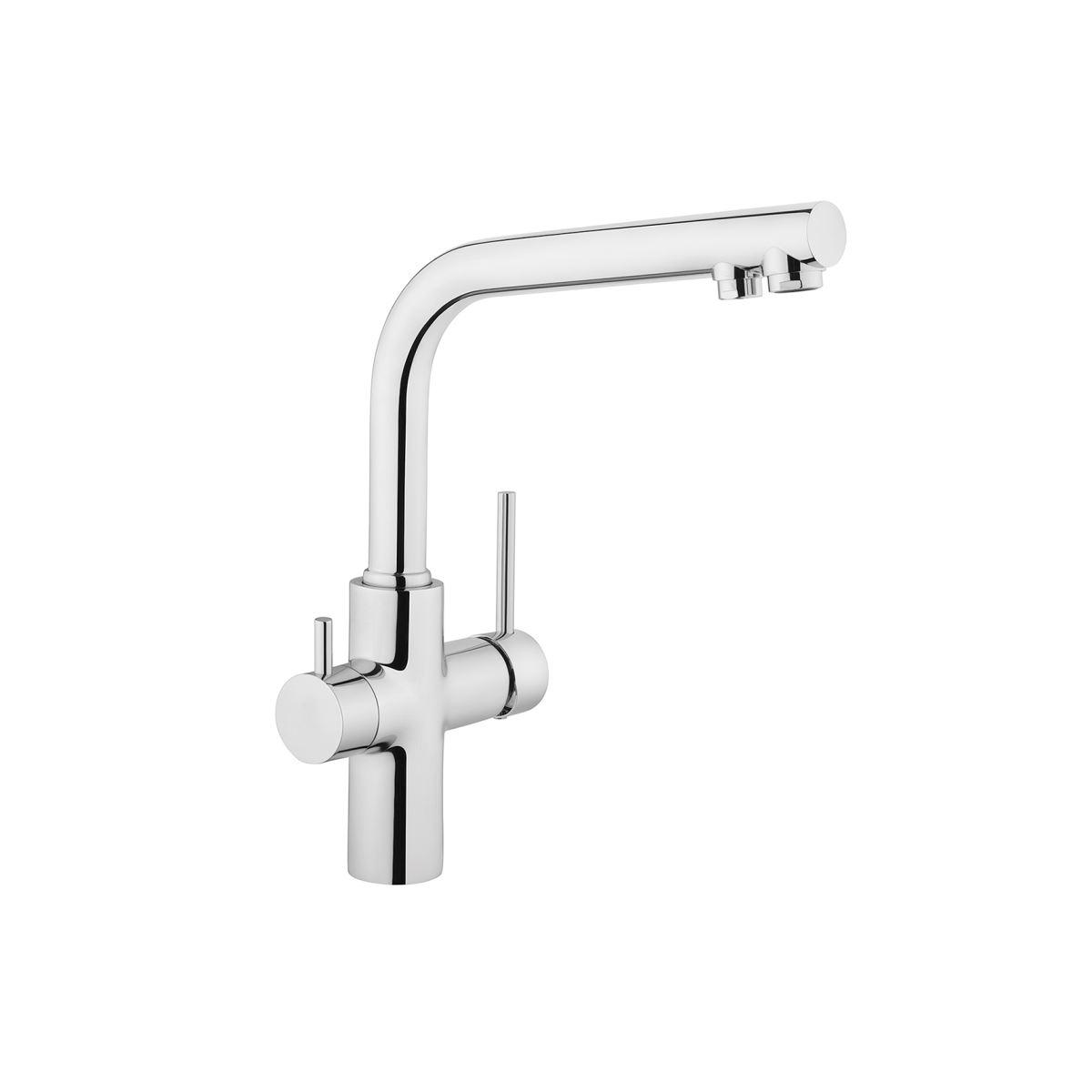 Sink Mixer Split Dual Flow