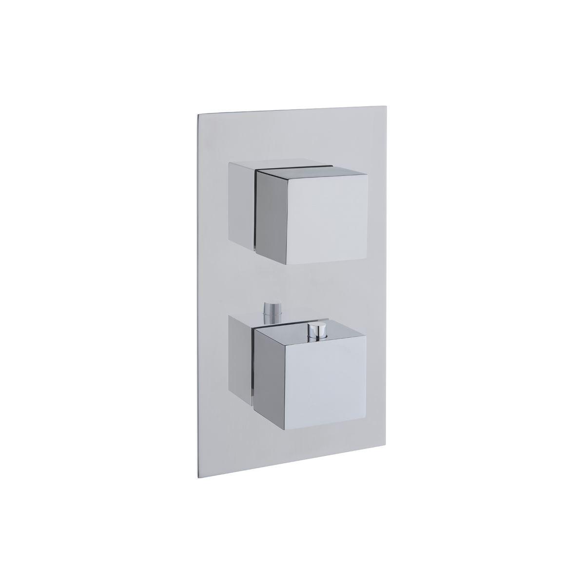 AquaHeat S2 Built-in Bath/Shower Mixer, 2-Way Diverter, Chrome