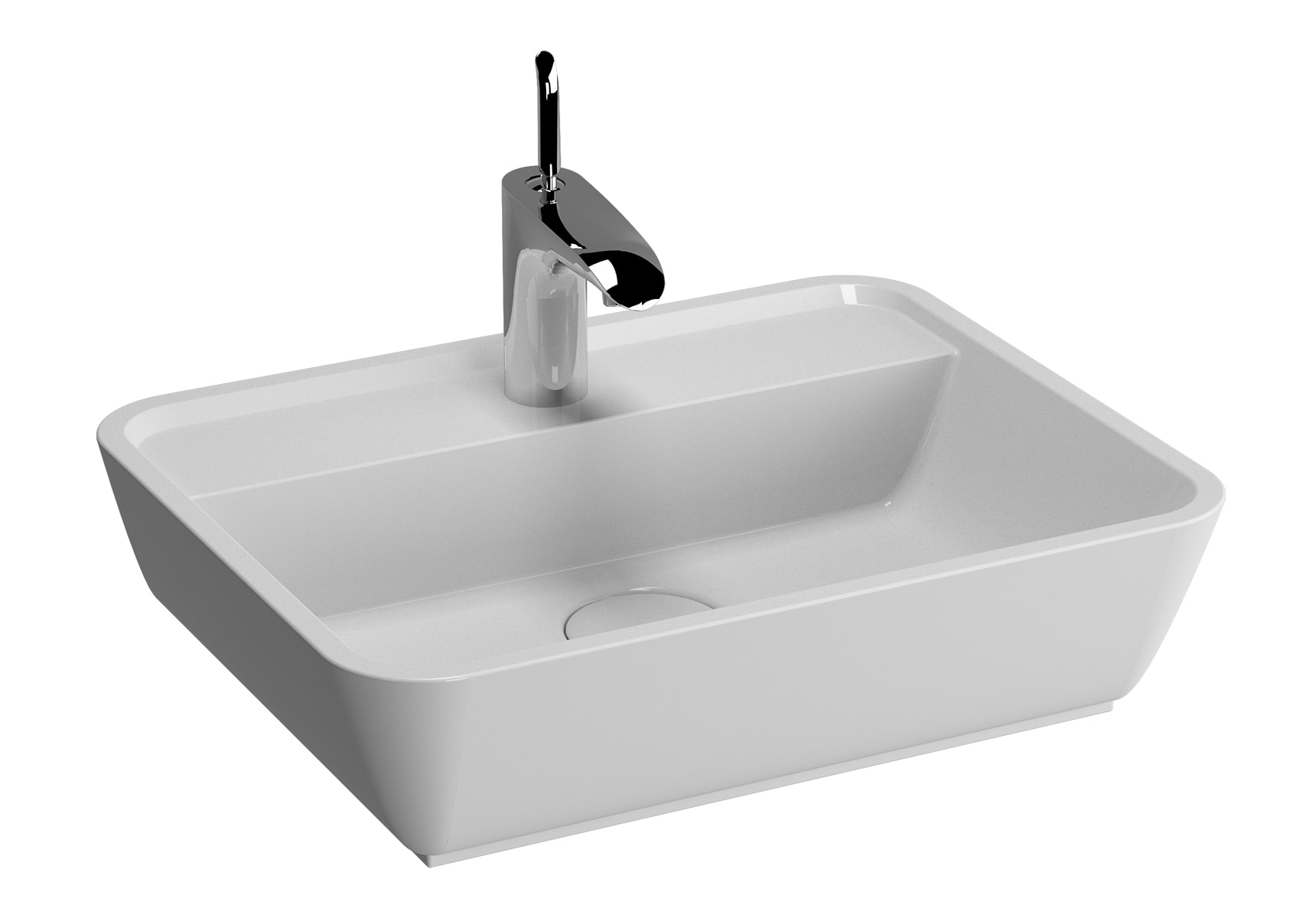 System Infinit Countertop Basin, 51cm