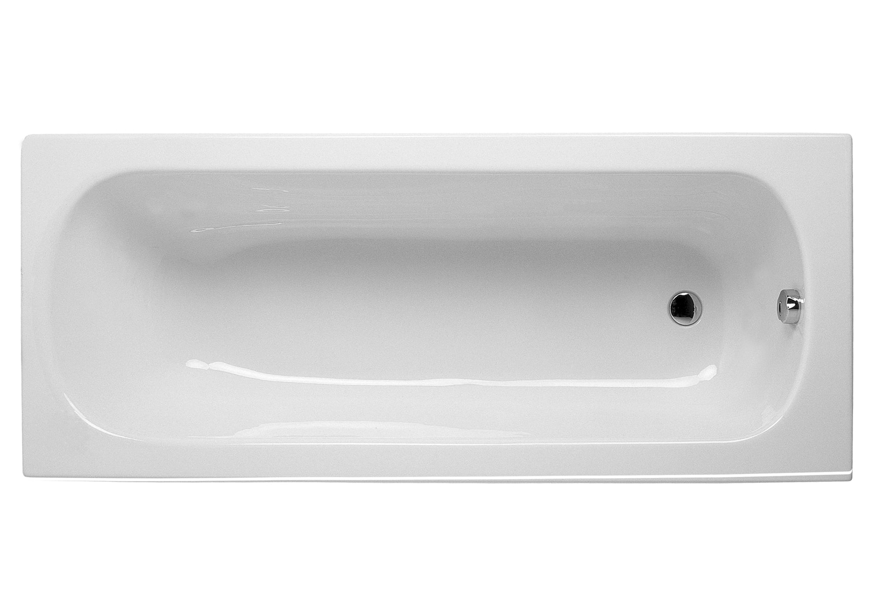 Eura 150x75cm Rectangular Bathtub