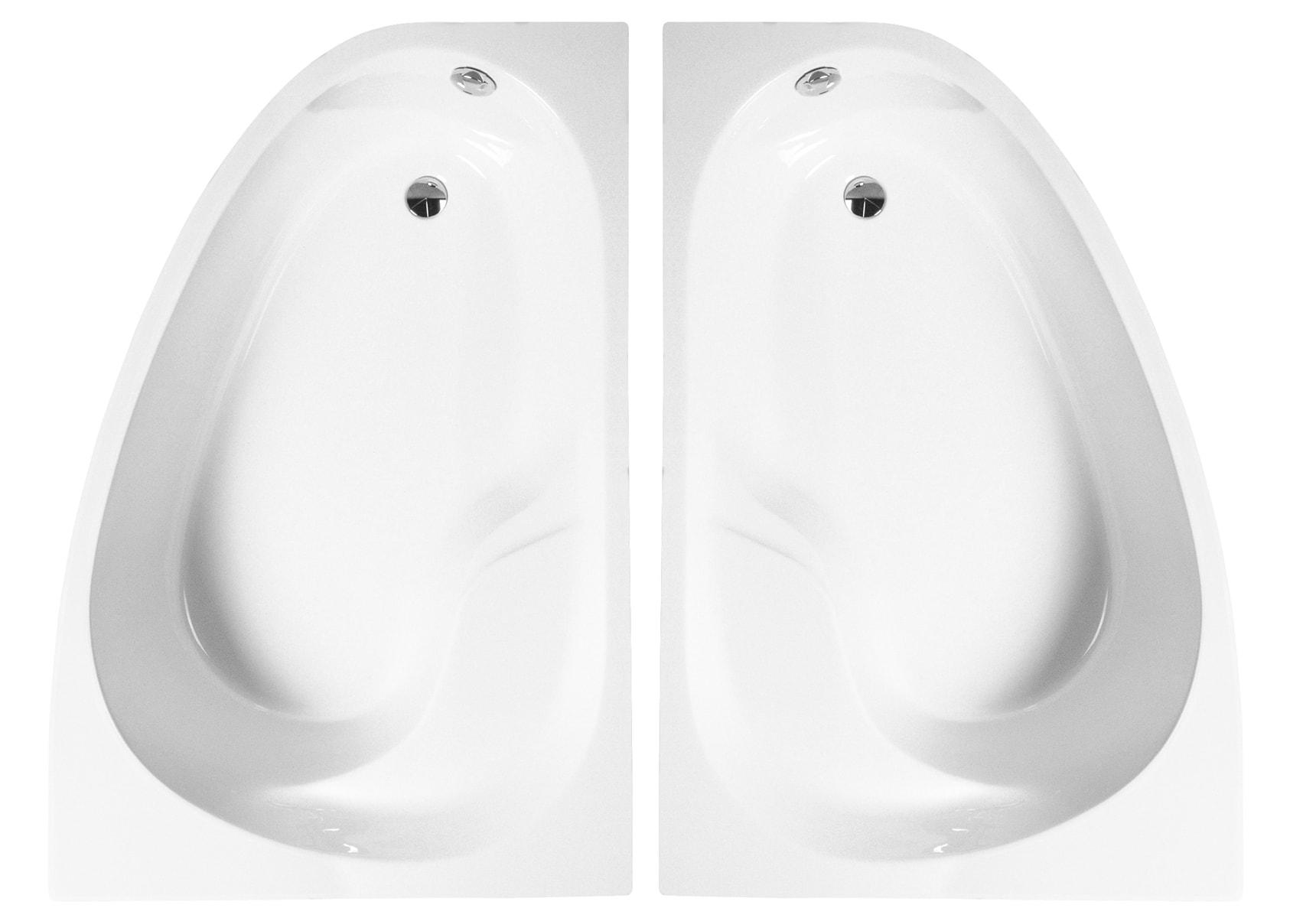 Nysa 150x100cm Bathtub, Right