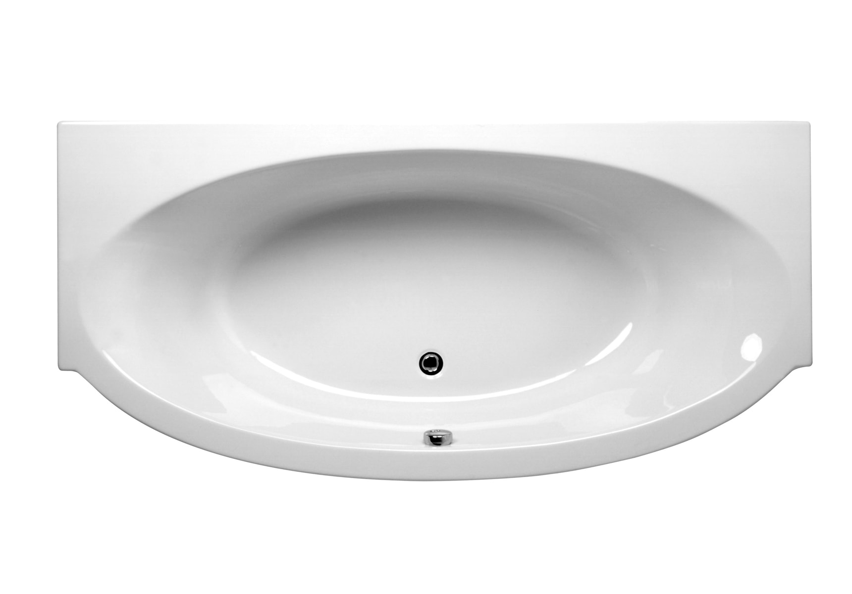 Espace 195×95/65cm Rectangular/Double Ended Bathtub