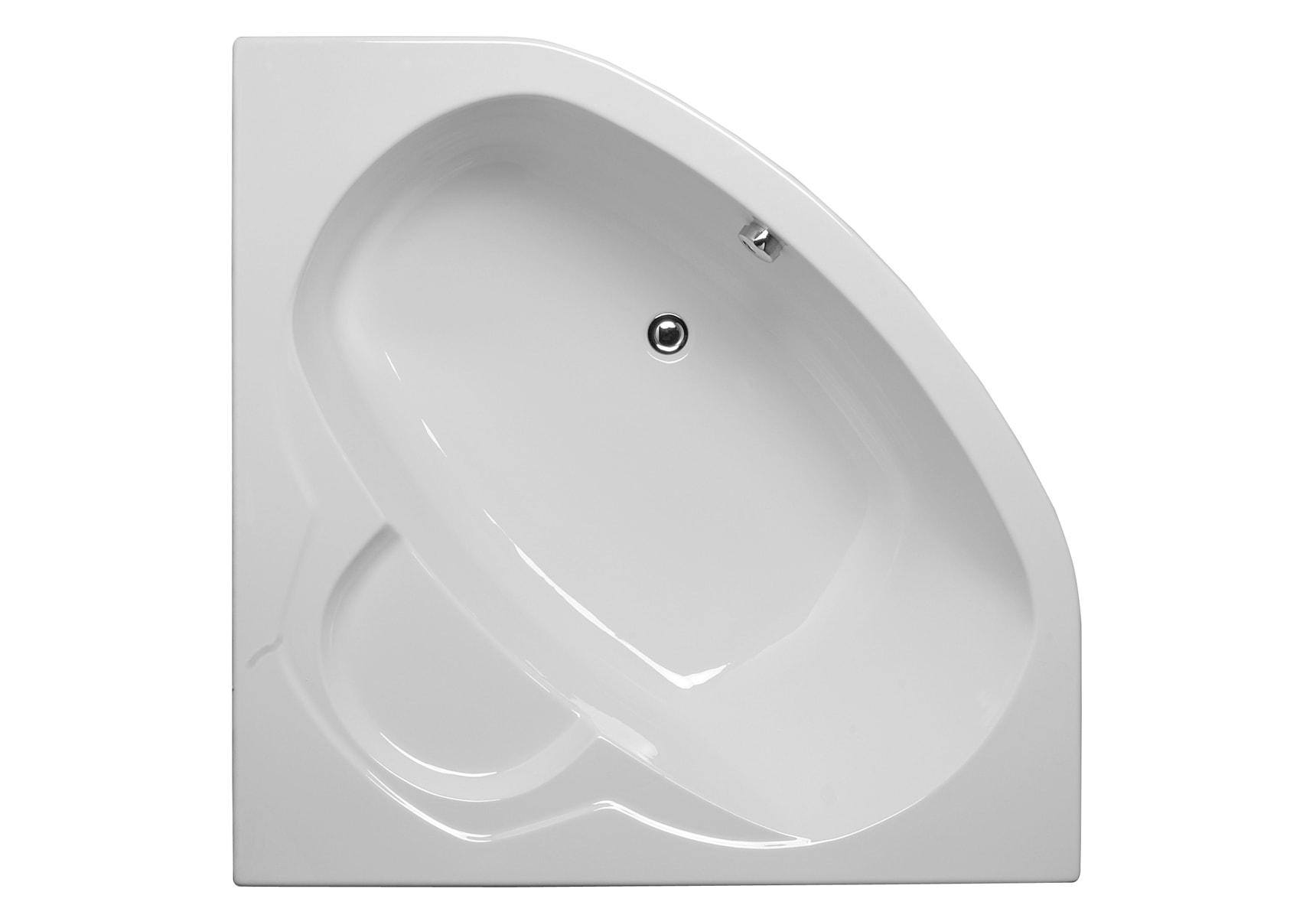 Optima 130x130cm Corner Bathtub