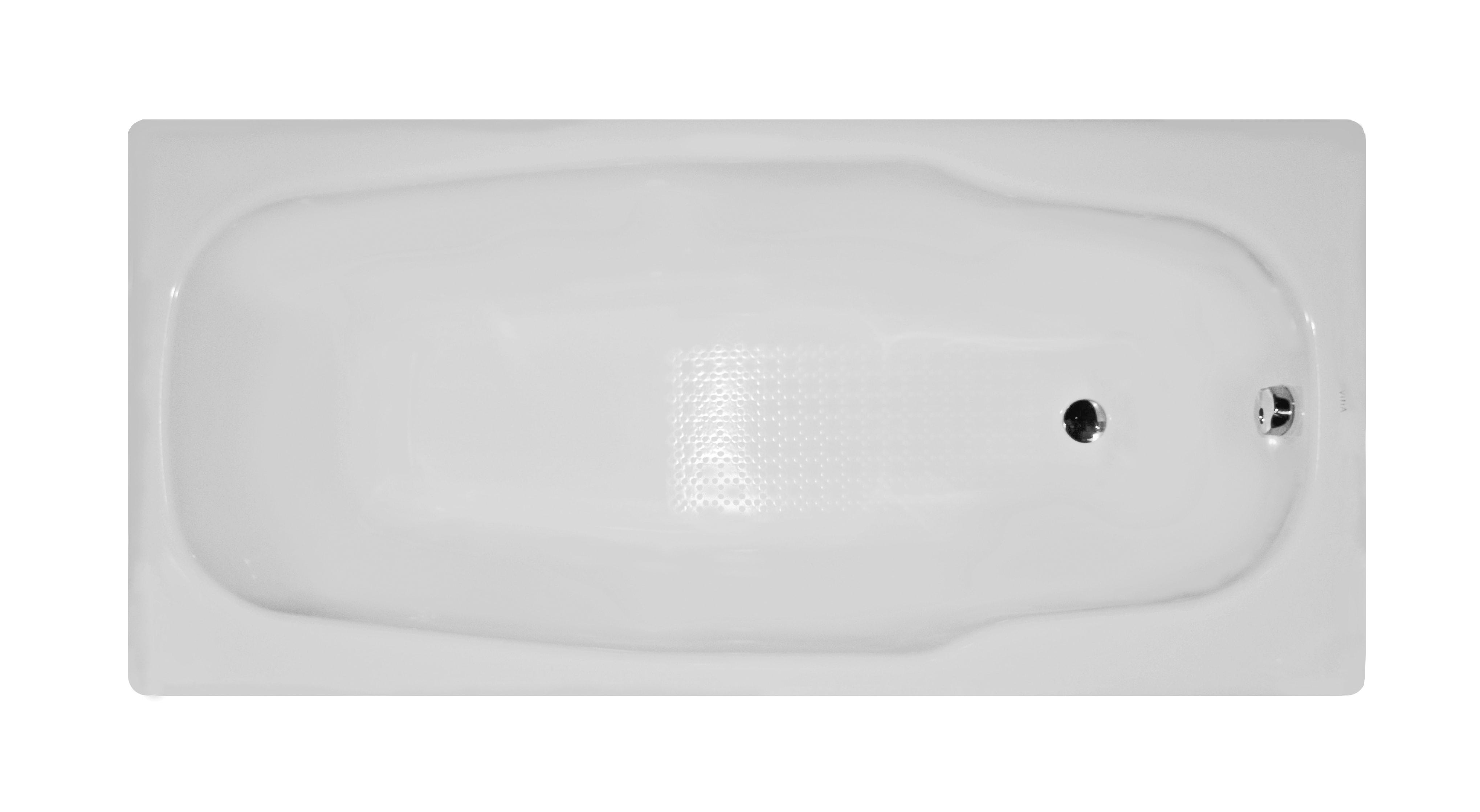 Stream 170×80 cm Steel Bathtub, 3.5 Mm, Sound Proofing Pad