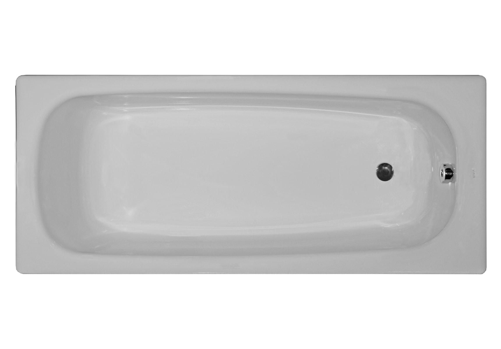 Generic Steel Bathtub, 2.2 Mm, Low Depth