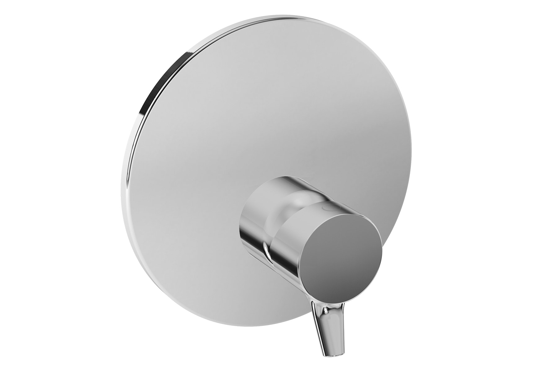Nest Trendy Built-In Shower Mixer, V-Box-Exposed Part, Chrome