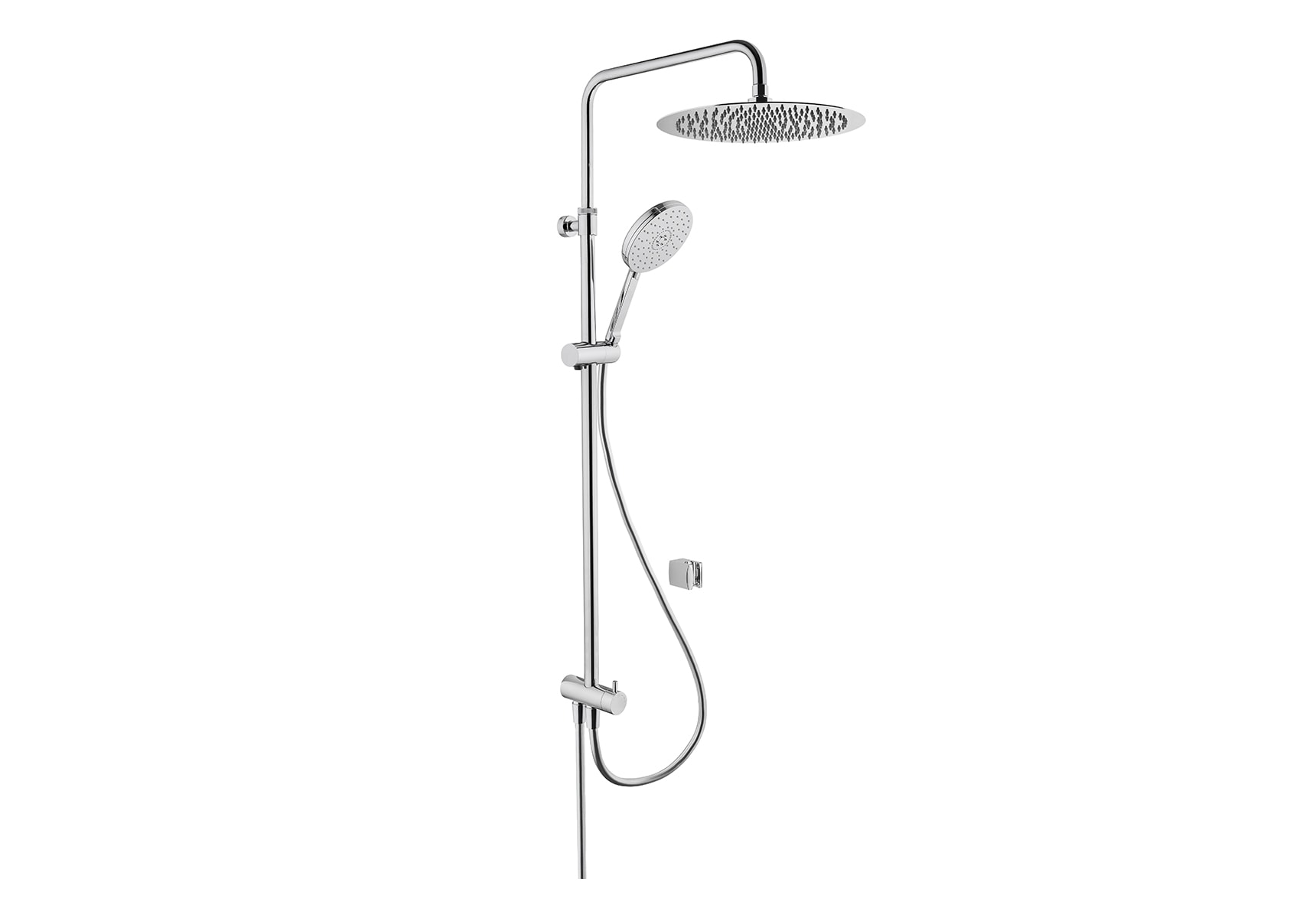 Lite LC Shower Column, Chrome