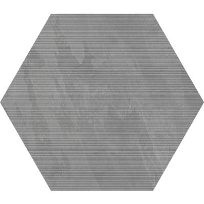 STONE / TECH-SLATE HEXAGON RIGATO DECOR