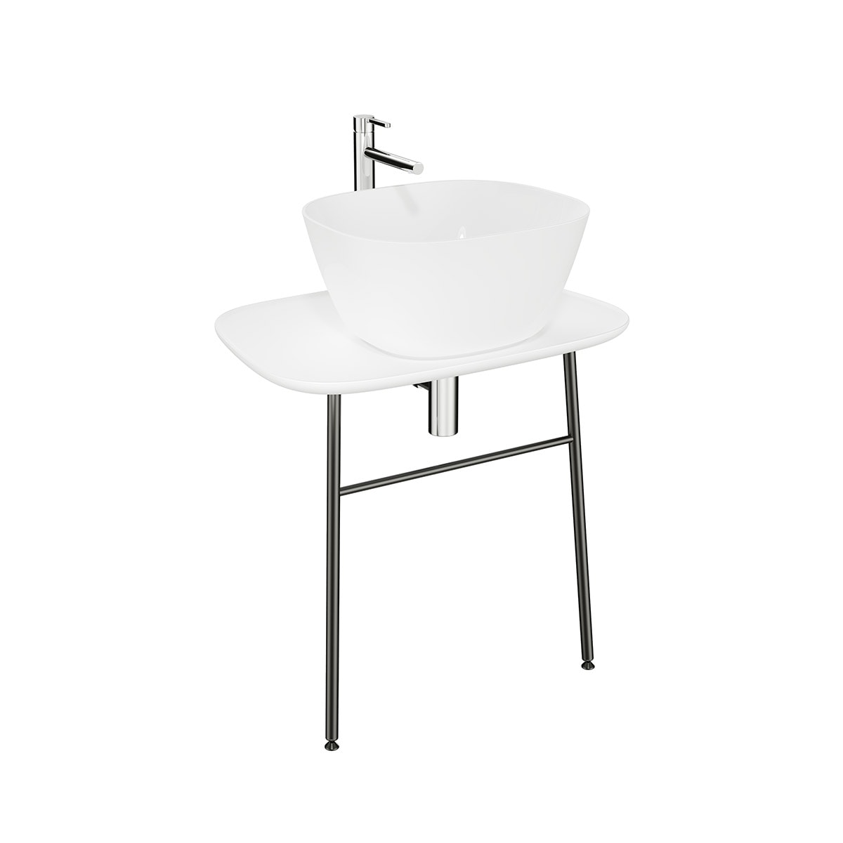 Plural Washbasin unit