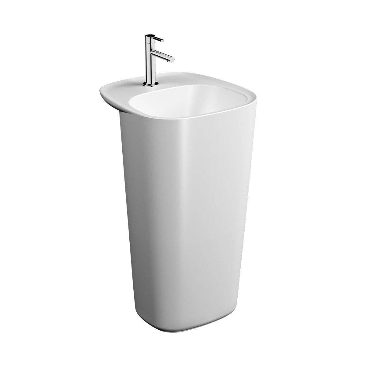 Plural Monoblock Washbasin, 50cm